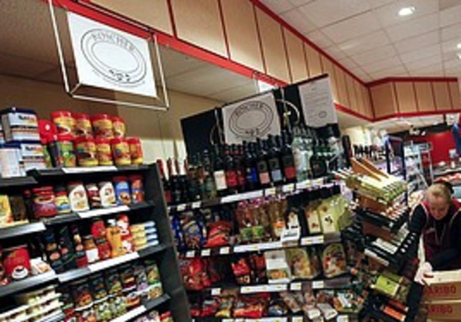 Kosher food at a Berlin supermarket