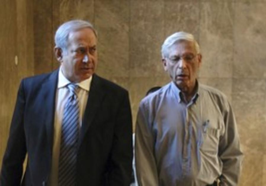 PM Netanyahu and Benny Begin