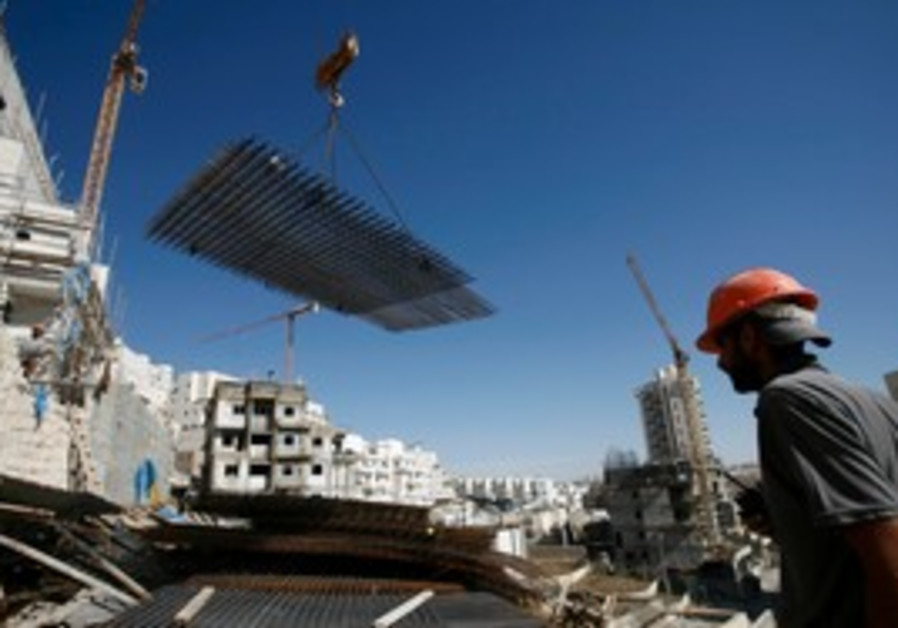 Construction in Jerusalem's Har Homa neighborhood