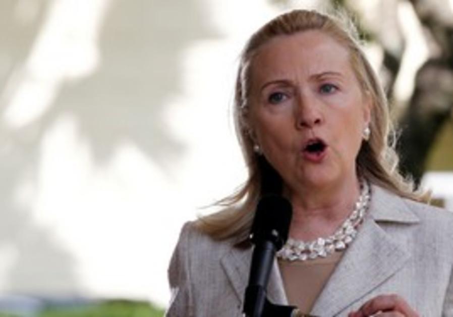 US Secretary of State Hillary Clinton.