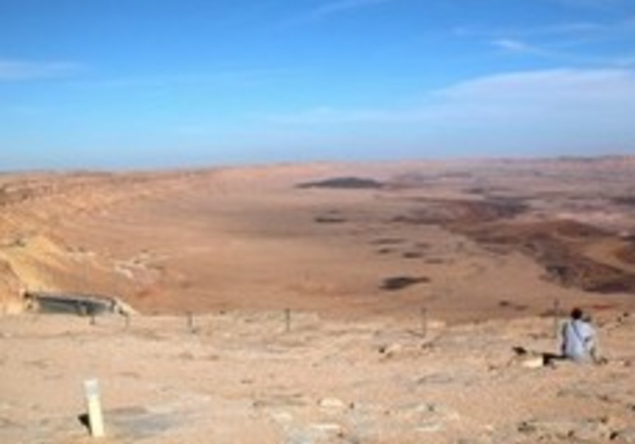 Israel's southern Negev desert