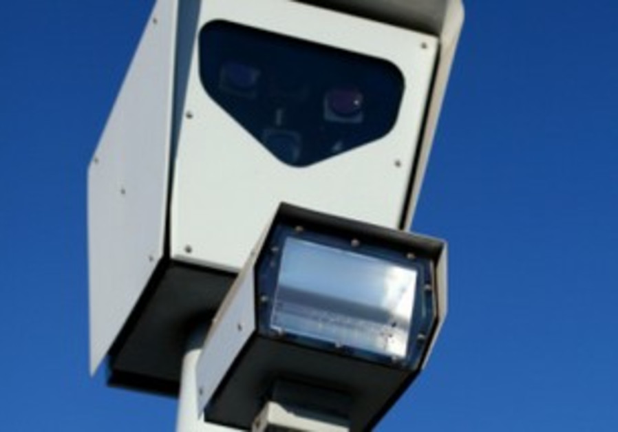 Traffic enforcement camera (illustrative)