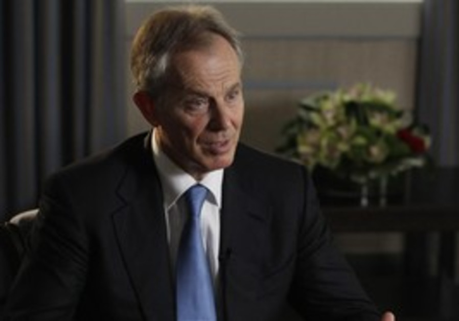 Quartet Mideast envoy Tony Blair