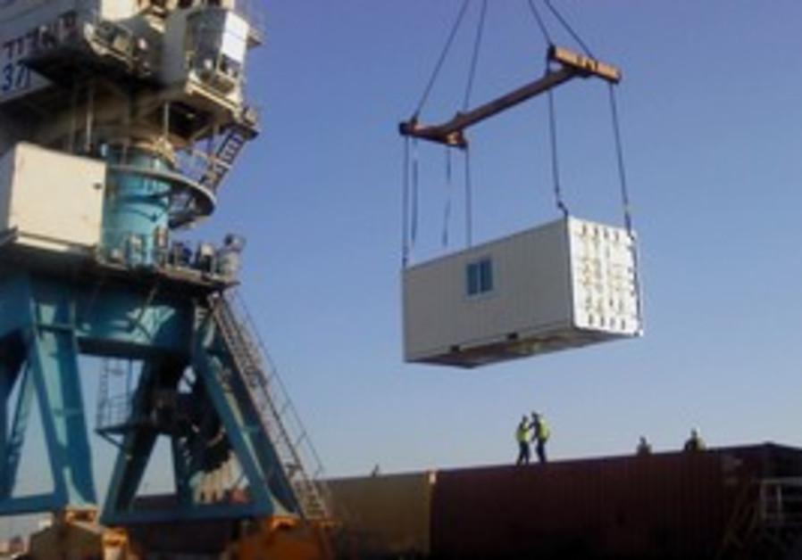 unloading aid in Turkey