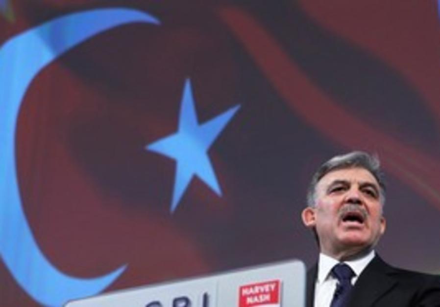 Turkish President Abdullah Gul.