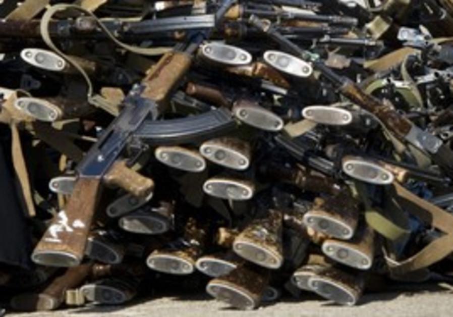 Kalashnikov rifles [illustrative]