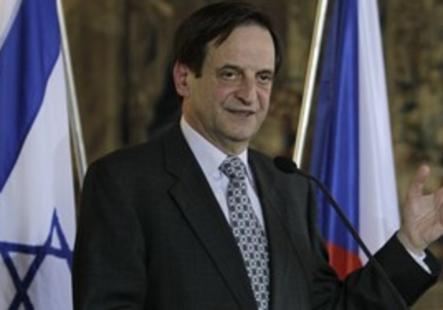 Deputy Prime Minister Dan Meridor [file]
