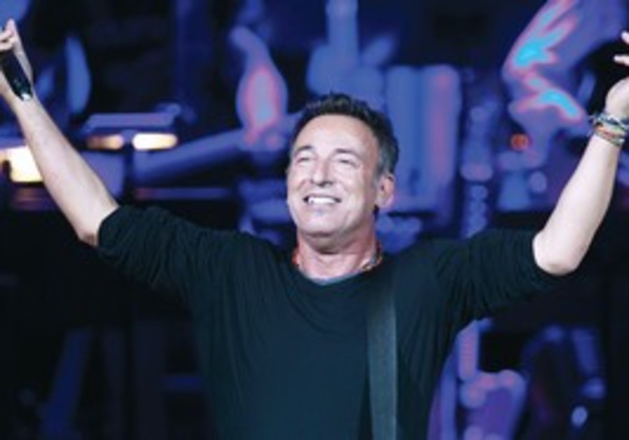 Bruce Springsteen performs in New York