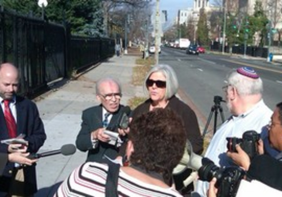 Alan Gross's wife in DC