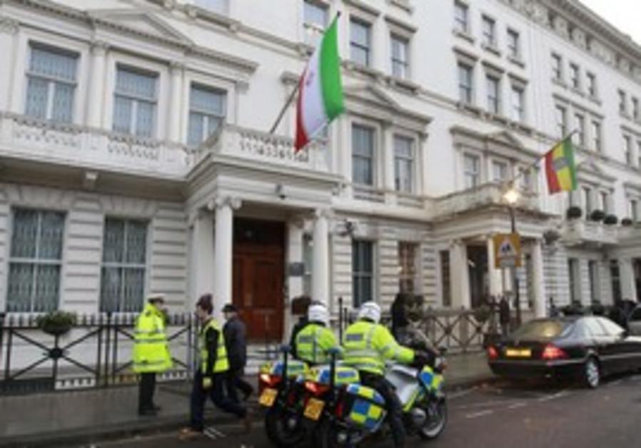 Iran embassy in London