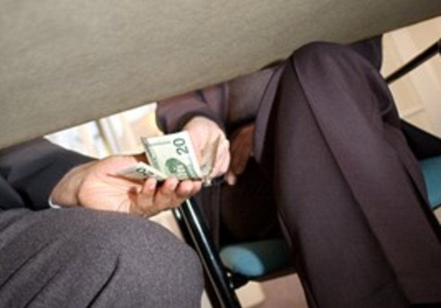 Money under the table [illustrative]