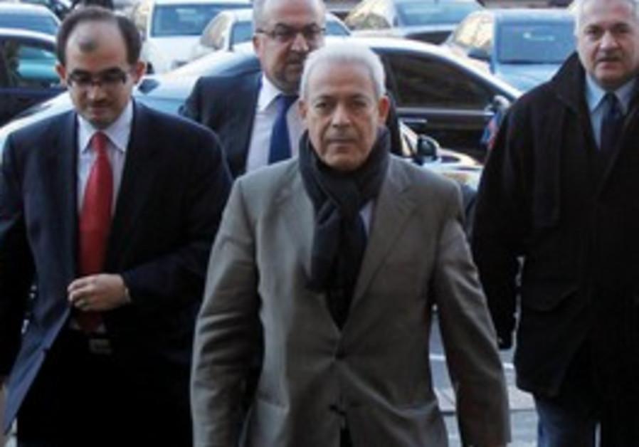 Syrian National Council Chairman Burhan Ghalioun.