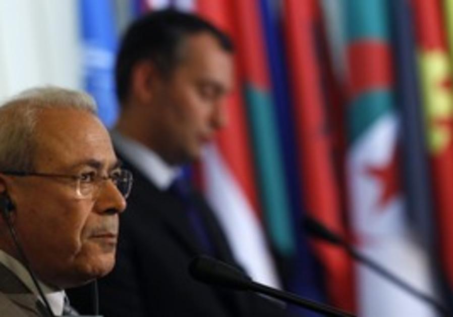 Burhan Ghalioun, head of the Syrian National Counc