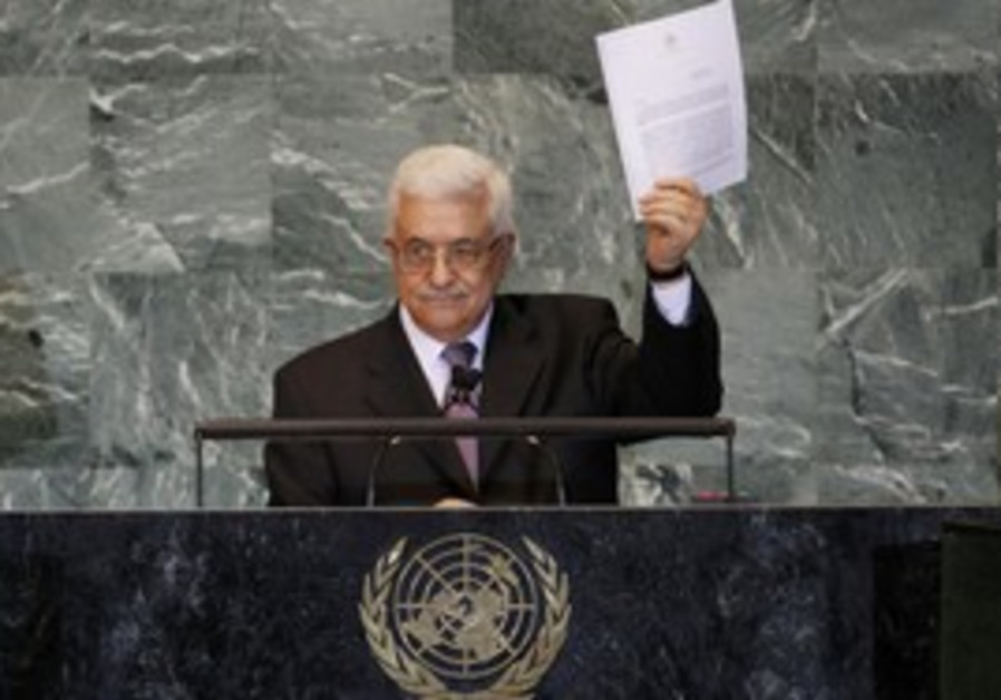 PA President Mahmoud Abbas addresses UNGA