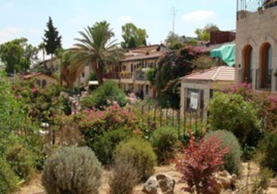 Hillside homes of Yemin Moshe