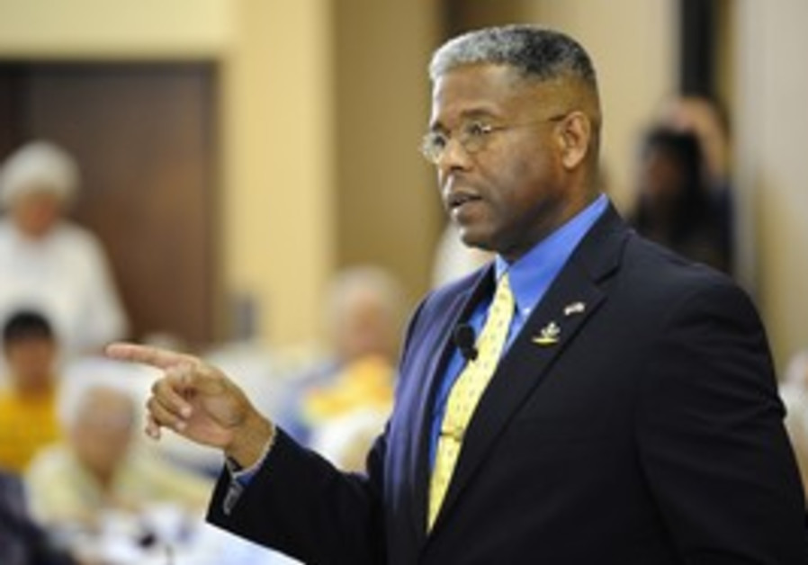 US Republican representative Allen West