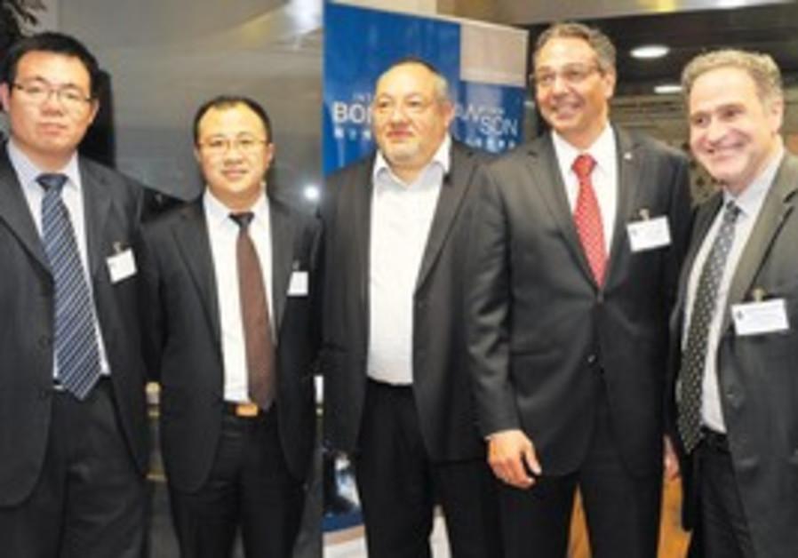 Israeli companies target China