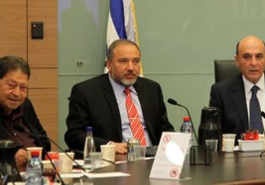 FM Lieberman at FADC meeting