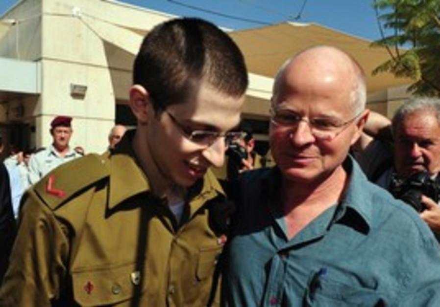 Gilad and Noam Schalit reuniting