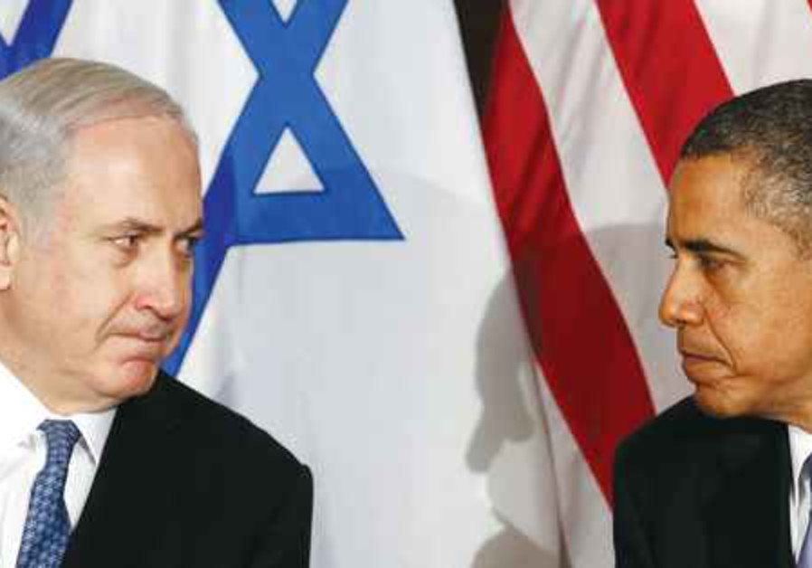 PM Netanyahu with President Obama