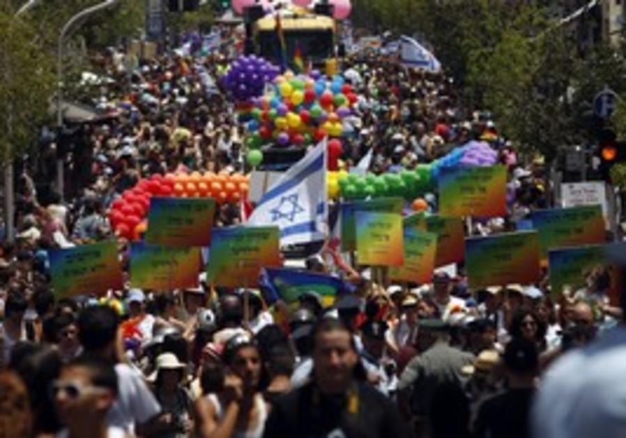 Gay pride in Israel