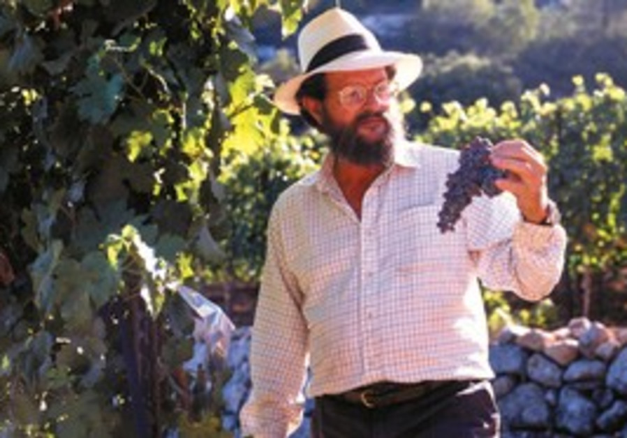 Eli Ben-Zaken, founder and owner of Domaine du Cas