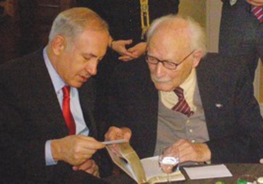 Netanyahu meets with Johan Van Hulst