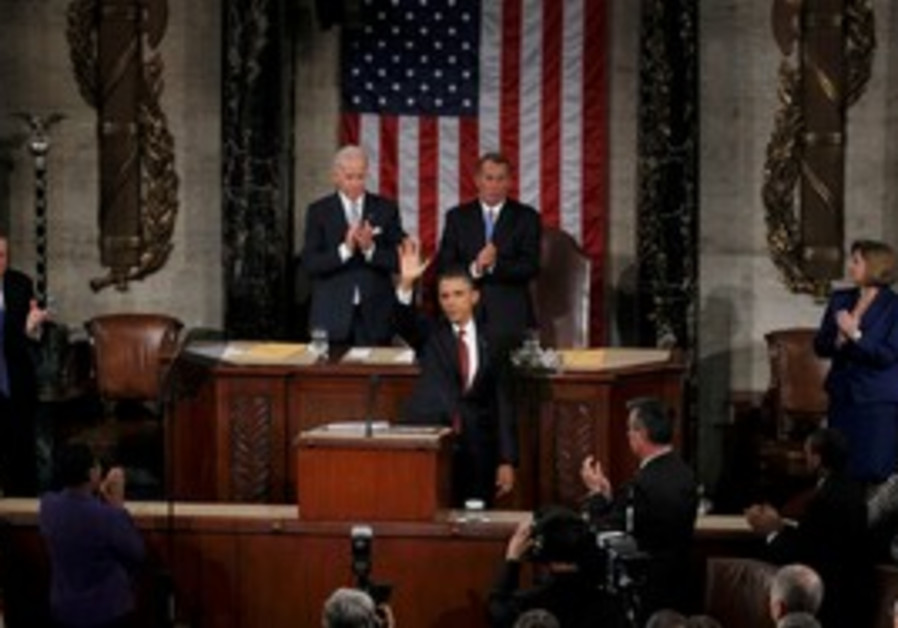 Obama gives State of the Union address