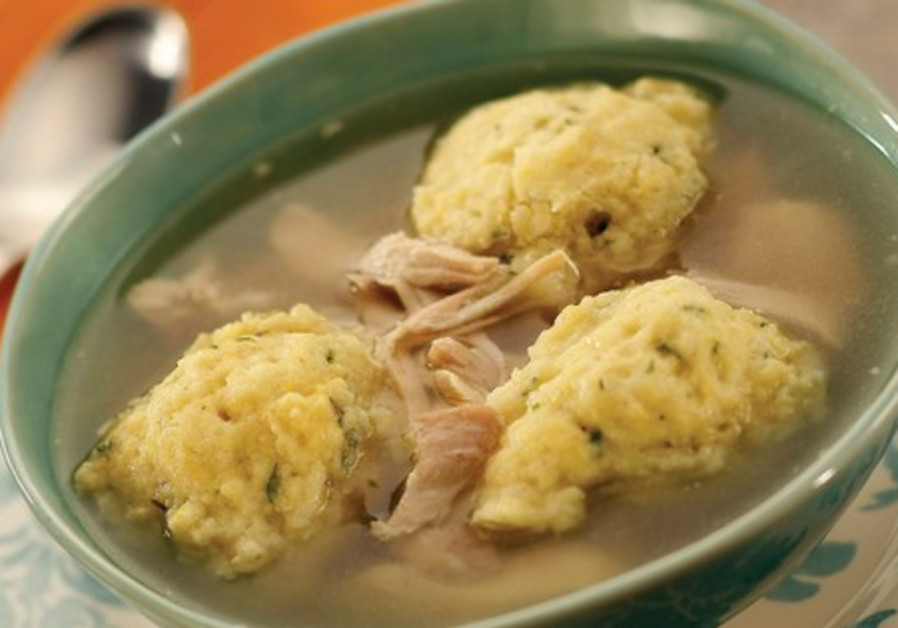 CHICKEN IN THE POT WITH MATZA BALLS