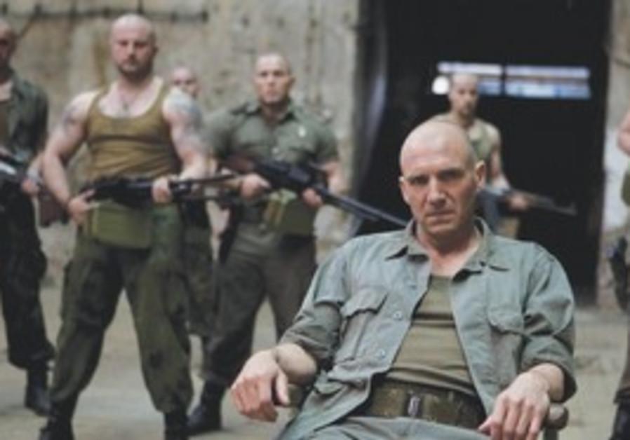 Ralph Fiennes in 'Coriolanus.'