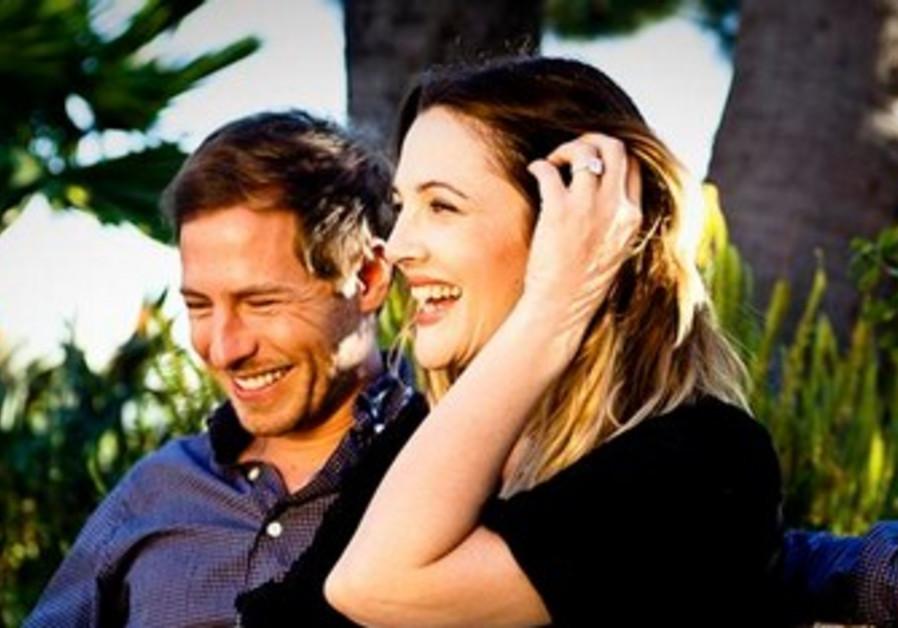 Drew Barrymore with fiancé Will Kopelman