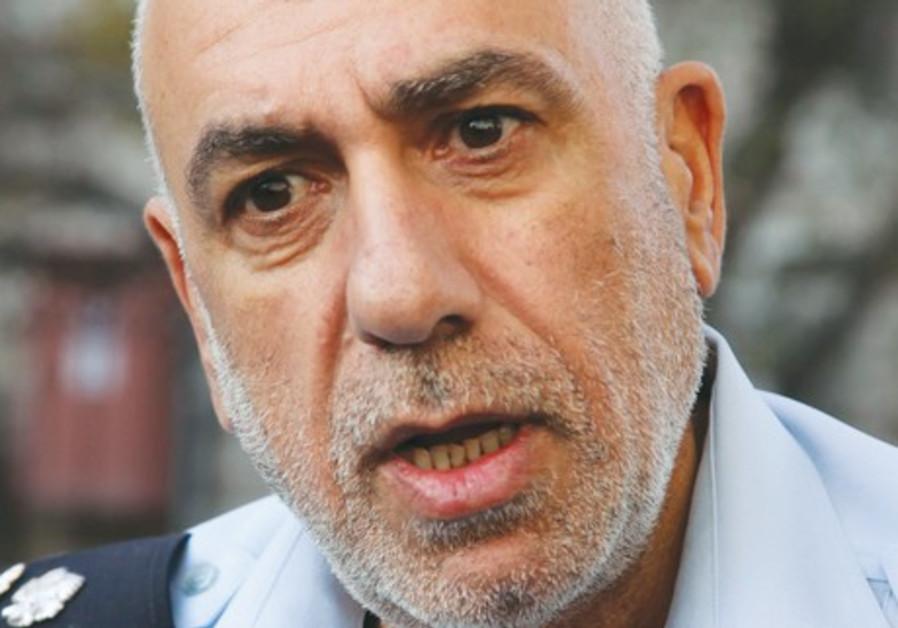 Jerusalem police chief Nisso Shaham