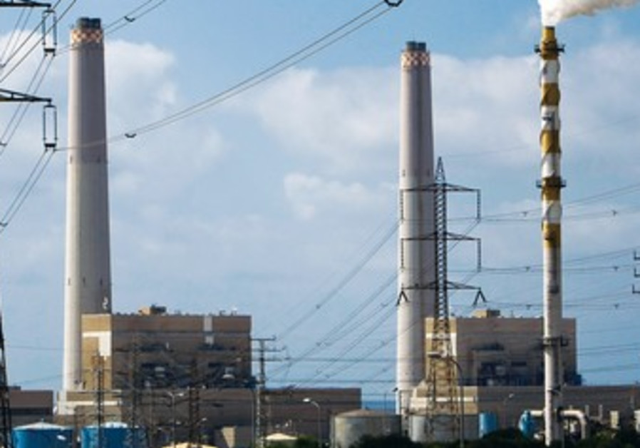 Power station in southern city of Ashdod
