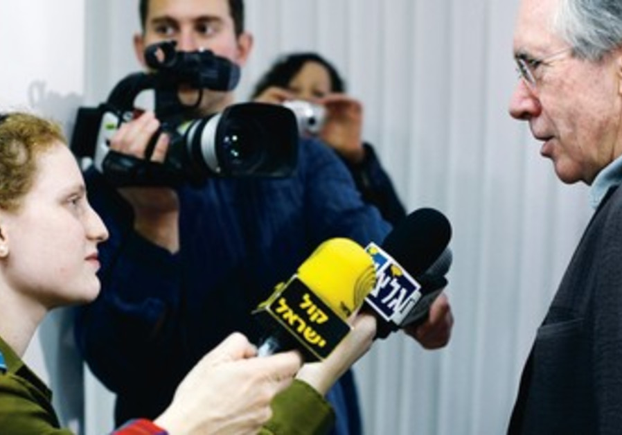Ian McEwan interviewed by an army radio reporter