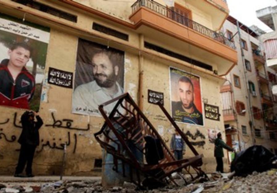Aftermath of Lebanon street battle