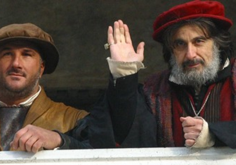 Al Pacino as shylock in 2004