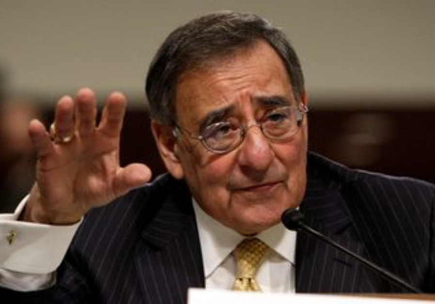 US Secretary of Defense Leon Panetta