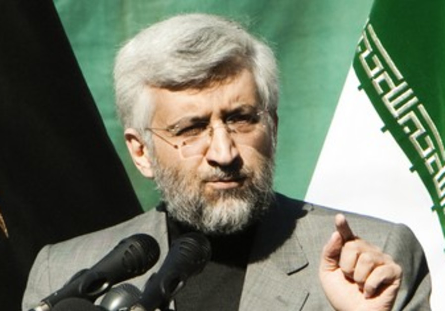Iran's chief negotiator Jalili