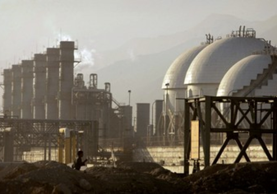 petrochemicals plant in Assaluyeh, Iran