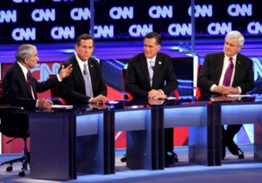 Republican candidates face off in Arizona debate