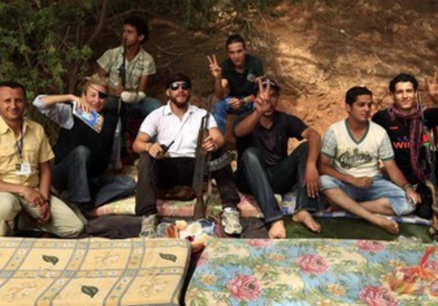 Marie Colvin in Misrata