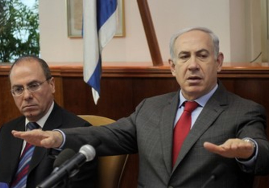PM Netanyahu speaks at cabinet meeting