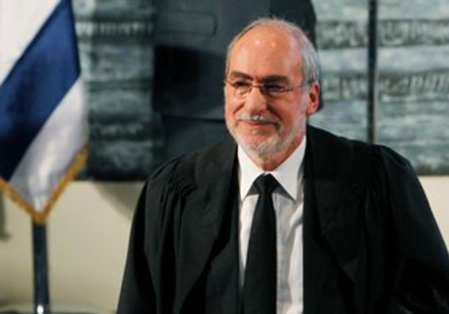 Supreme Court President Asher Grunis
