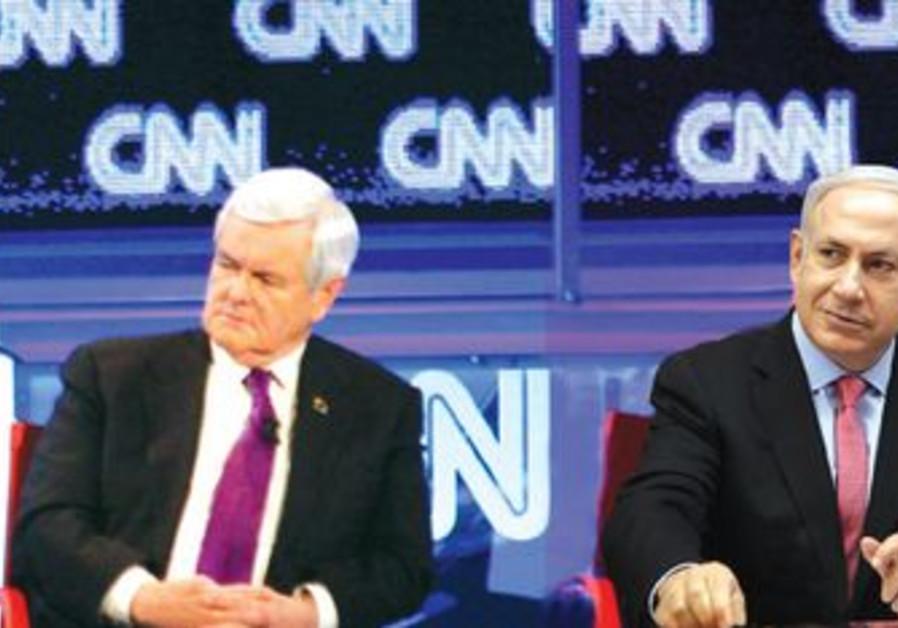 GOP presidential candidates Netanyahu, Ging
