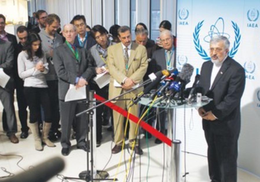 IRANIAN IAEA AMBASSADOR Ali Asghar Soltanieh