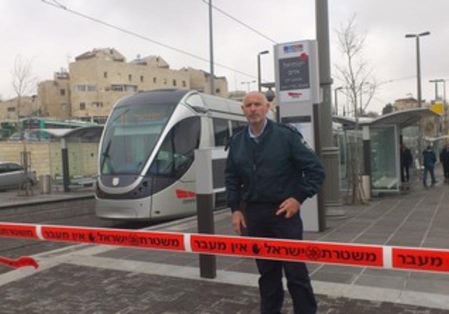 girl stabbed on Jerusalem light rail