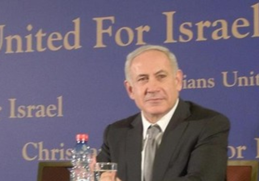 Netanyahu at CUFI meeting