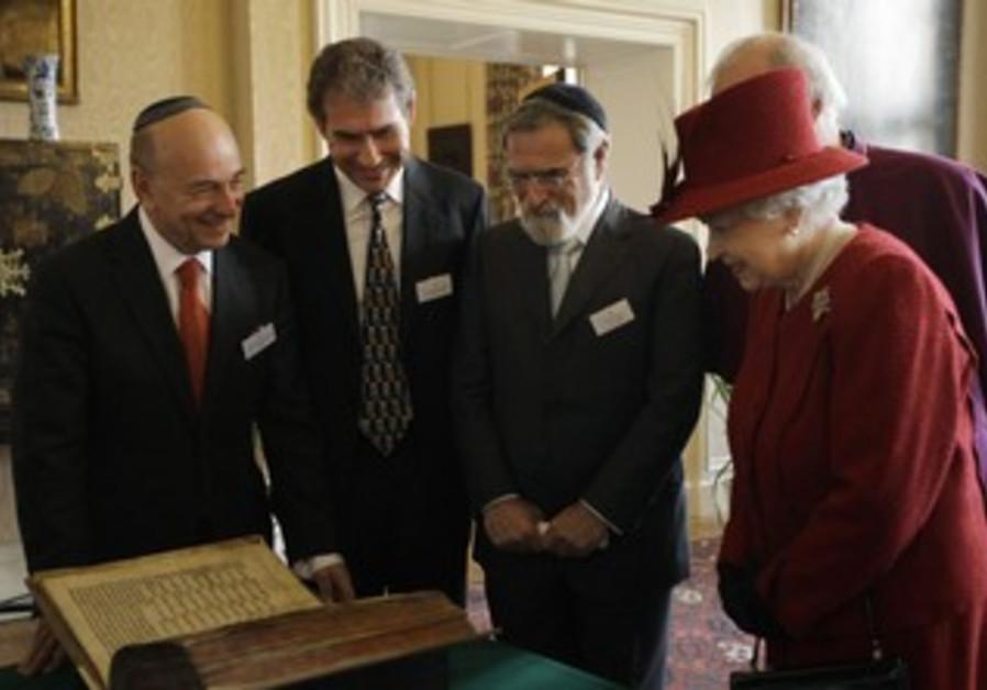 Queen Elizabeth, Vivian Wineman, UK Jewish leaders