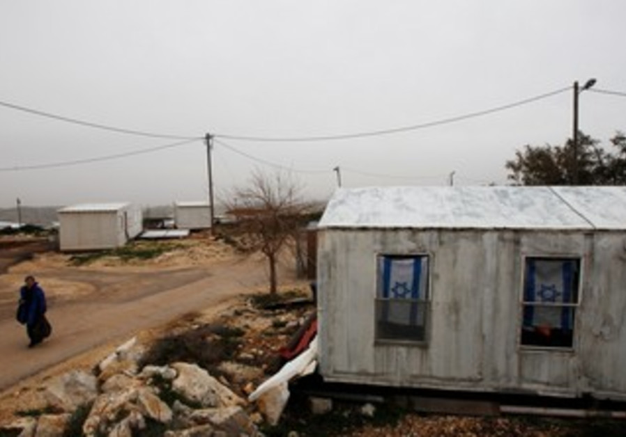 West Bank outpost Migron