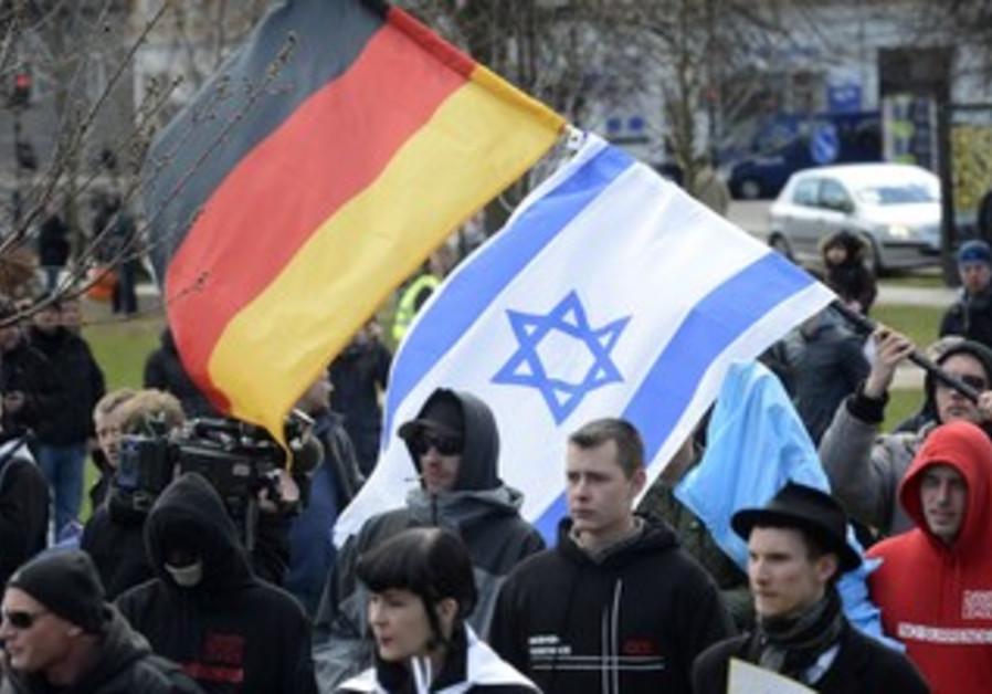 Anti-Islamic rally in Denmark